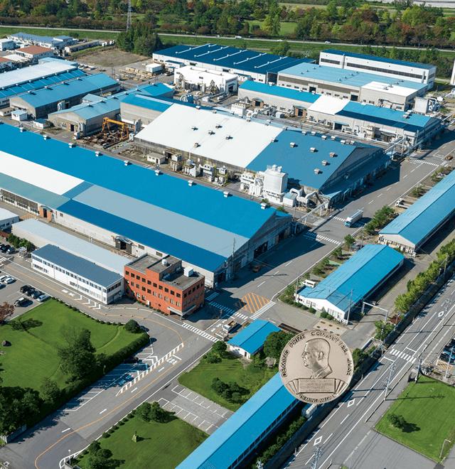 世界最大級の銅合金鋳物メーカー